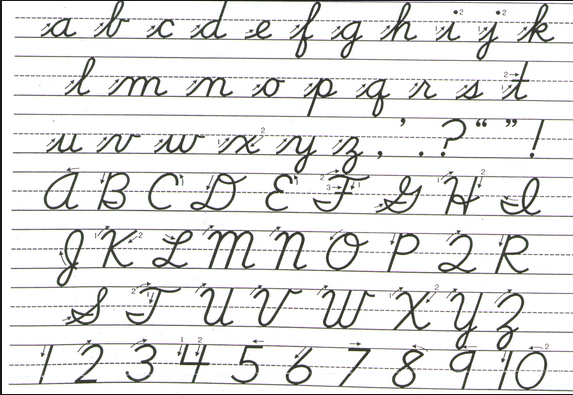 Handwriting Worksheets | Schoolmarm Ohio