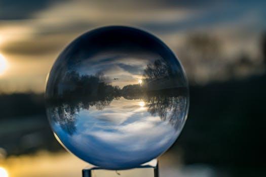 gazing globe lake